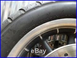 00-08 Harley-davidson Touring Flh / Flt 16 Roue avant Jante Pneu Rotors