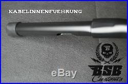 18 Ape Hanger Guidon Noir Mat Harley Davidson 1 1/4 Softail Dyna Touring