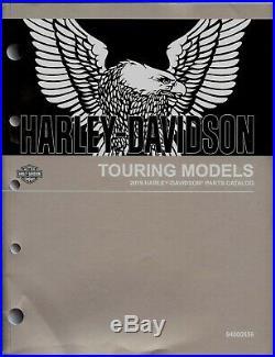 2019 Harley-Davidson Touring Parties Catalogue Manuelle -flhr Flhx Flhxs FLHTK