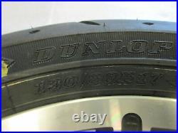 748. Harley Davidson Touring Jante Avant Avec Pneu Roue 3,00 x 17 Pouces