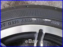 748. Harley Davidson Touring Jante avant avec pneus ROUE AVANT ROUE 3,00 x 17