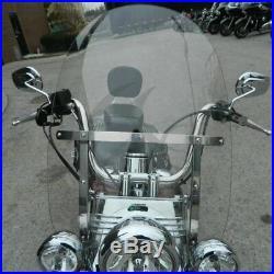 Amovible Pare-Brise Pare-Brise Pour Harley-Davidson Touring Road King Classique