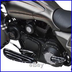 Arlen Ness Repose-pieds noir chauffeur Deep Cut Harley Davidson Touring 99-18