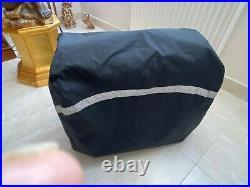 Bagage Touring bag pour moto Harley Davidson. Valise à roulettes avec housse