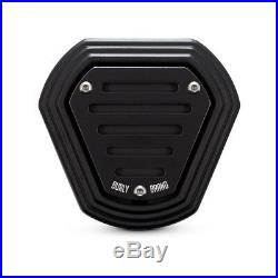 Burly Hex Filtre à Air, Noir, pour Harley-Davidson Softail, Dyna Touring 93-17