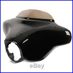 Carenage Batwing avec pare-brise pour Harley Davidson Touring 1996-2013