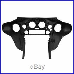 Carénage Intérieur Batwing pour Harley-Davidson Touring 97-13 noir