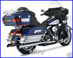 Collecteur Coudes Escape Pour Harley-Davidson Touring 95-06 True Double En-têtes