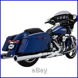 Collecteur Escape Pour Harley-Davidson Touring Vance & Hines Puissance Duaux