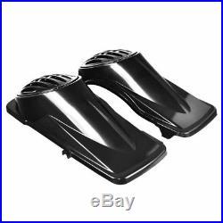 Couvercles de sacoches p. Haut-parleurs p. Harley Davidson Touring 94-13 n. Peint