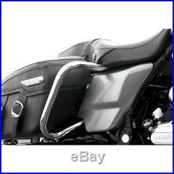 Défenses Bagages Arrière Pour Harley-Davidson Touring arrière Sacoche de selle