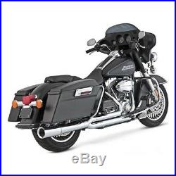 Echappement Exhaust Chrome Vance & Hines Pro Pipes Harley Davidson Touring 2009
