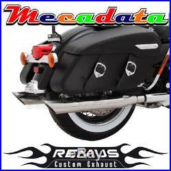 Echappement Remus Inox Harley Davidson FL2 Touring 09