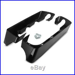 Extensions du Sacoches Rigides pour Harley-Davidson Touring 14-19 Craftride noir