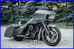 Garde-Boue avant en Métal Roue Roue 19 Bagger Harley Davidson Touring