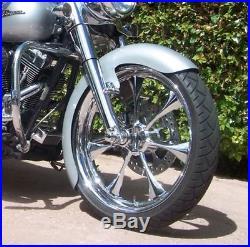 Garde-boue Avant En Métal Roue Roue 23 Bagger Harley Davidson Touring