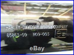 H278. Harley Davidson Touring FLHX Silencieux Silencieux d'échappement 65863-09