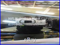 H288. Harley Davidson Touring Flh Silencieux Silencieux D'Échappement 65863-09