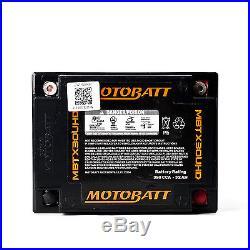HARLEY DAVIDSON 1584 FL, FLH série (TOURING) 2007 11 Batterie AGM GEL MOTOBATT