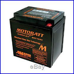 HARLEY DAVIDSON 1690 FLH, FLT (TOURING) 2010 14 Batterie AGM GEL MOTOBATT