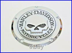 Harley Davidson Crâne Carter D'Embrayage Derby Cover Touring de 2016 25700469