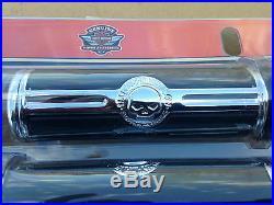 Harley Original Oem Willie G Crâne Poignées Guidon Softail Dyna Touring XL 1'6