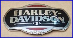 Harley Original Réservoir à Carburant Emblème de Réservoir Médaillon Touring