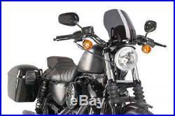 Harley Sportster 883 Iron 09' 17' Touring Fumé Foncé Puig Saut De Vent Naked N