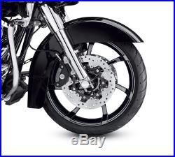 Harley-davidson Roue Avant De 19 Agitator Touring De 2009 À 2019 Noir