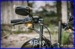 Heinzbikes LED Clignotant Harley Davidson Touring Embrayage Hydraulique Noir