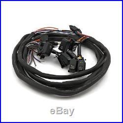 Interrupteur LED Armature pour guidon noir radio F. HARLEY-DAVIDSON TOURING 96-06