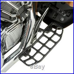 Joker Machine Repose-pieds chauffeur noir Serrated Harley Touring 84-15
