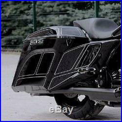 Lato Estesa Coperture Harley Davidson Touring Bagger Flhx Fltr Flhr Cvo 09-13
