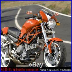 Magazi rétroviseur modèle VIPER orange pour Harley chopper cruiser touring