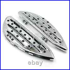 Marches Pieds Avant Chromes Harley Davidson Street Road Touring Neufs 1986-2021