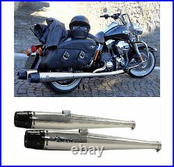 Mohican Arrow 2 Ligne Complete Lucido Harley Davidson Touring 2009 09