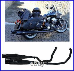 Mohican Arrow 2 Ligne Complete Noir Harley Davidson Touring 2012 12