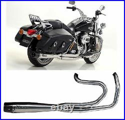 Mohican Arrow Ligne Complete Lucido Harley Davidson Touring 2013 13