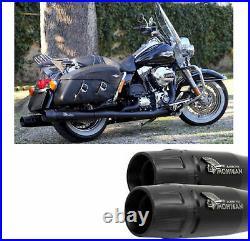 Mohican Arrow Pot Echappement Noir Harley Davidson Touring 2007 07