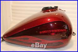 OEM 2009-2019 Harley Touring Rue Glide Hot Canne Bonbon Paillette Gas Réservoir