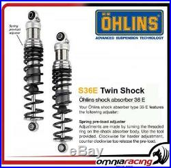 Ohlins S36E 310mm 2 amortisseurs Harley FLT Touring Road Glide 19902015