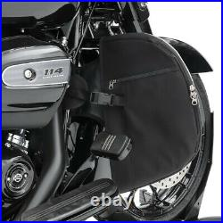 Pare carter Set pour Harley Davidson Touring 09-20 + Bas de carénages S-Y4