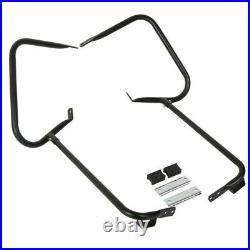 Protection de sacoche pour Harley Davidson Road Glide 98-08 noir