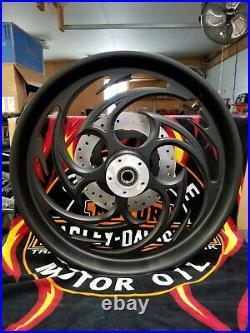 RC Composants Harley Davidson Touring Savage Mat Avant 21 Roue & Rotor