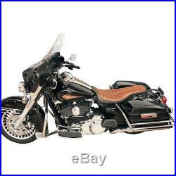 Rsd Flatout Enzo Selle marron Harley Davidson Touring 03-14
