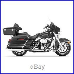 Sacoches Étiré pour Harley Davidson Touring Modèles 94-13 Noir Mat