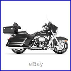 Sacoches Rigides Prolongés pour Harley Davidson Touring 14-19 non laqué