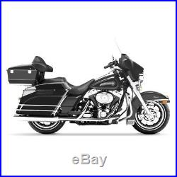 Sacoches Rigides Prolongés pour Harley Davidson Touring 94-13 non laqué
