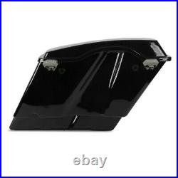 Sacoches Rigides Stretched pour Harley Touring 94-13 avec doublure noir