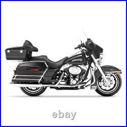Sacoches Rigides pour Harley Davidson Modèles Touring 94-13 noir mat / noir